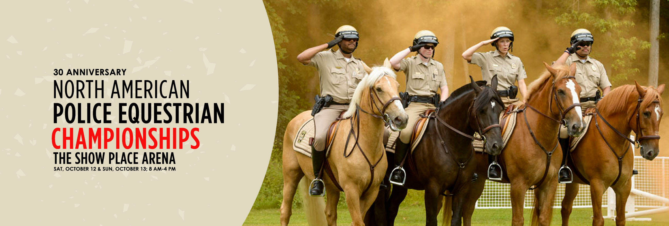 Park Police crew and their horses