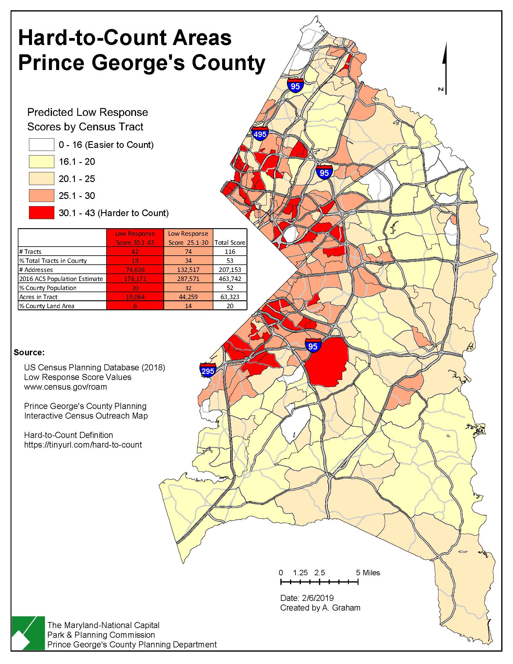 Prince George's County-Hard To Count Areas