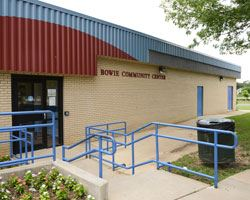 Bowie Community Center Exterior